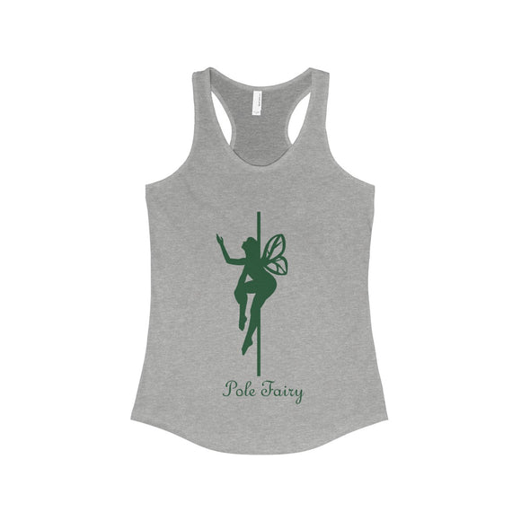Pole Fairy - Forest: Racerback Tank