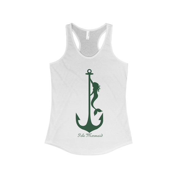 Pole Mermaid - Ariel: Racerback Tank