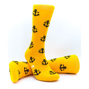 Anchors Away | Cap'n Joe | Colourful Male Design Socks