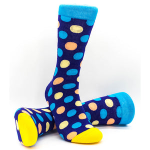Going Dotty | Cap'n Joe | Colourful Male Design Socks