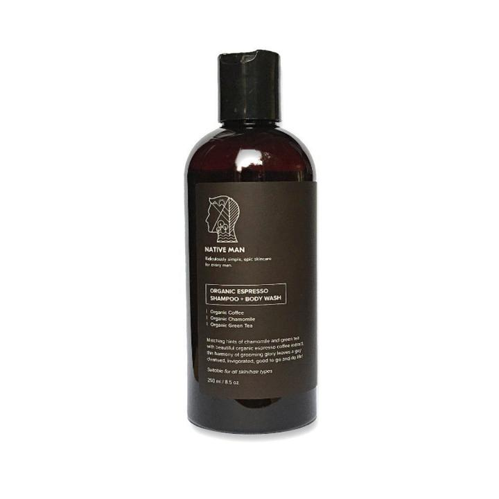 Organic Espresso Hair Shampoo + Body Wash