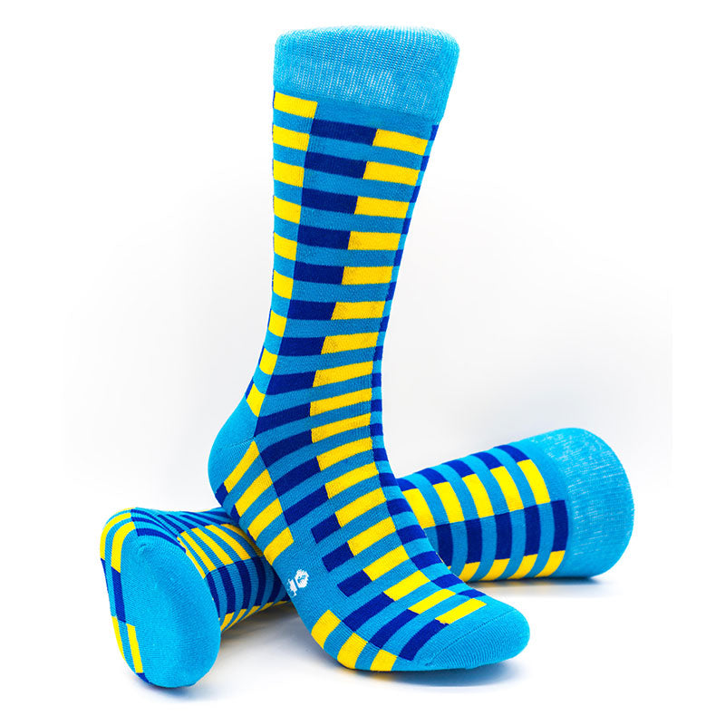 Stripe Sock | Cap'n Joe | Colourful Male Design Socks