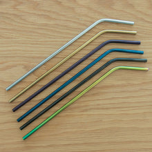 Load image into Gallery viewer, Stainless Steel Straw - Reusable Metal Drinking Straw With Cleaner Brush