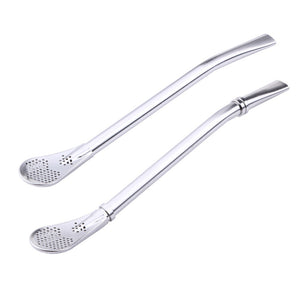 Stainless Steel Tea Drinking Straw with Filter