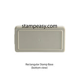 Text Customizable Stamp (Rectangular)
