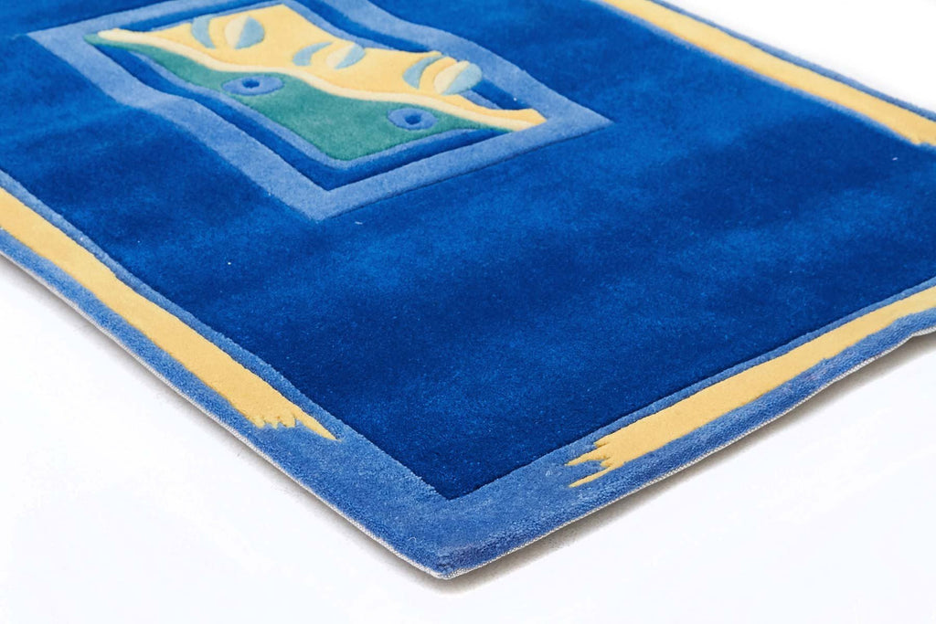 Gold Collection 102 Blue Rug