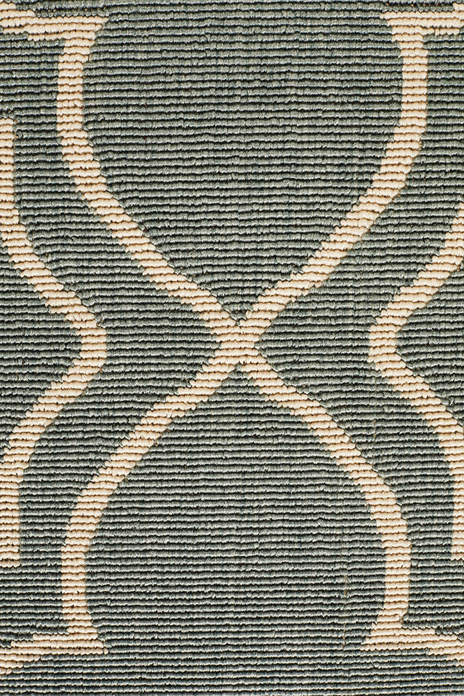 Alfresco Indoor Outdoor Collection 6510 Teal Rug