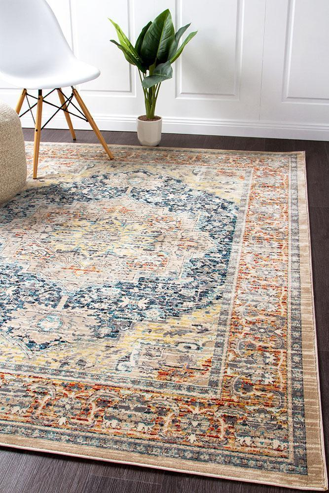 Cascade Moonlight Lucent Blue Rug