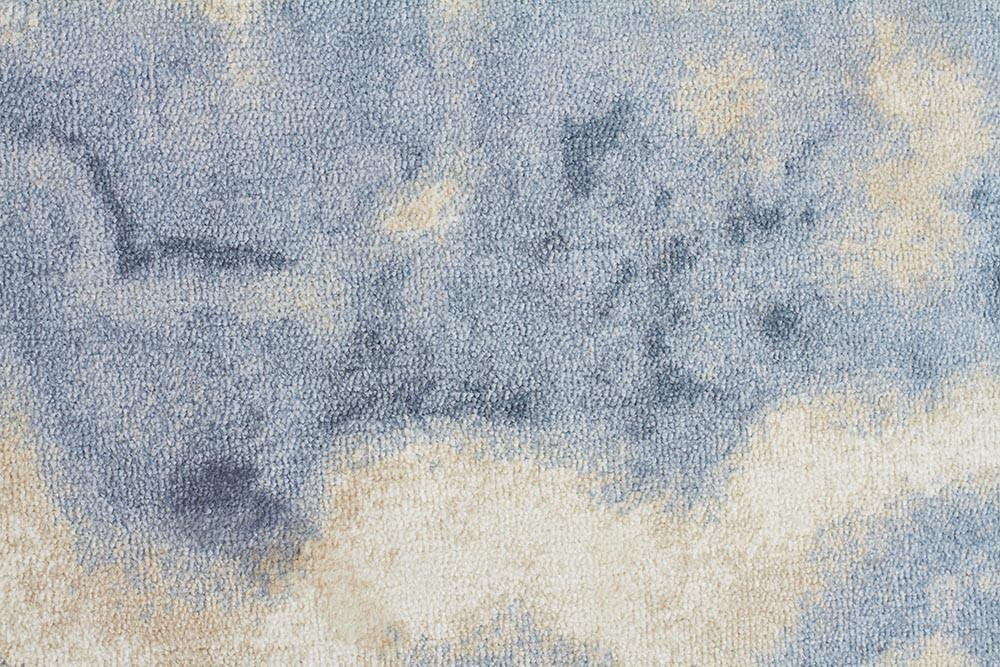 City Amazing Cloud Modern Blue Rug
