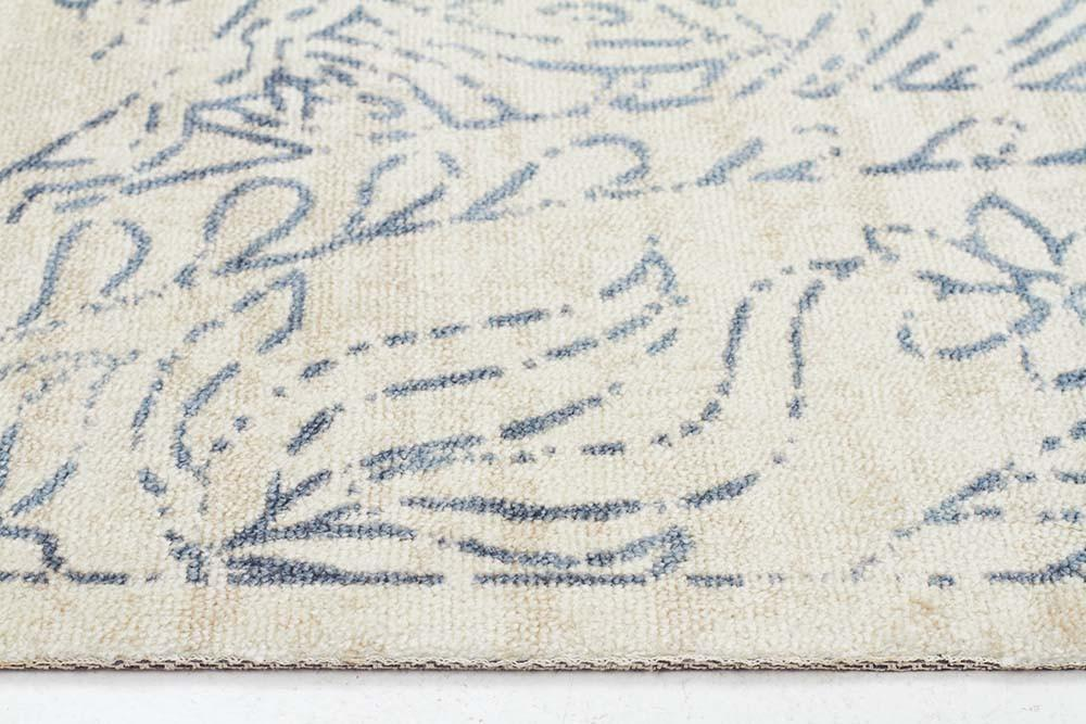 City Origins Modern Blue Rug