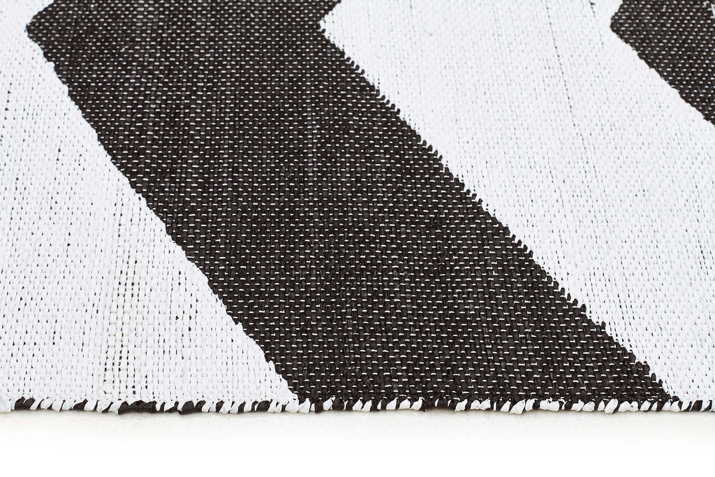 Coastal Indoor Outdoor 1 Black Rug