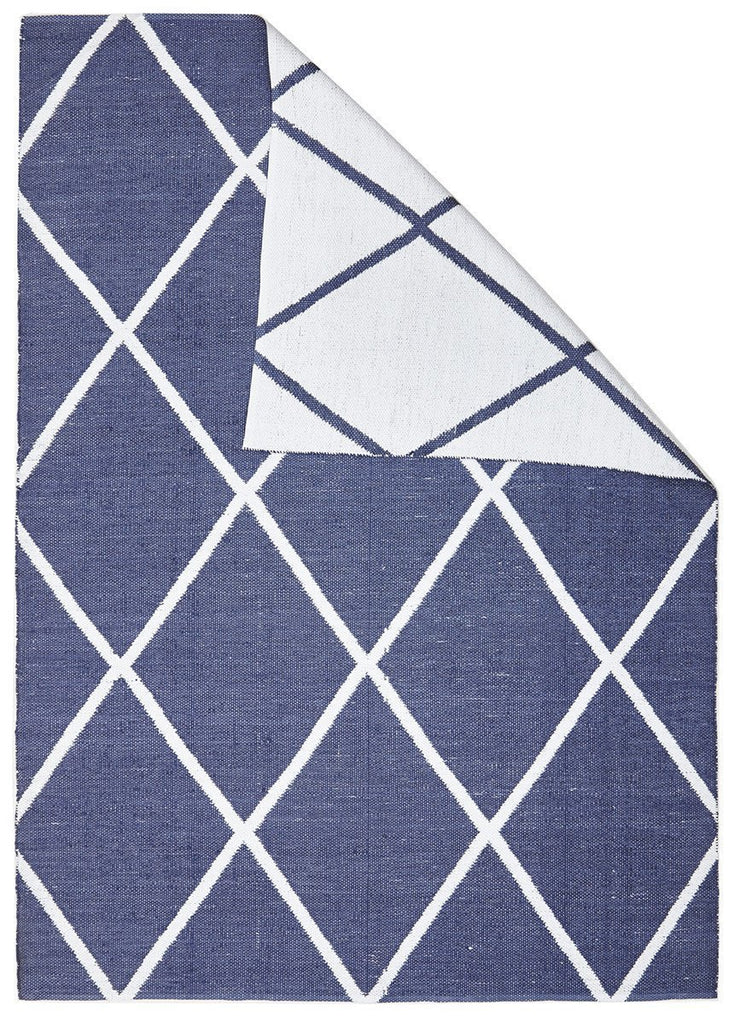 Coastal Indoor Outdoor 3 Navy Rug