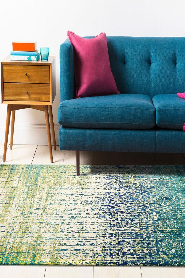 Concepts Collection 503 Blue Rug