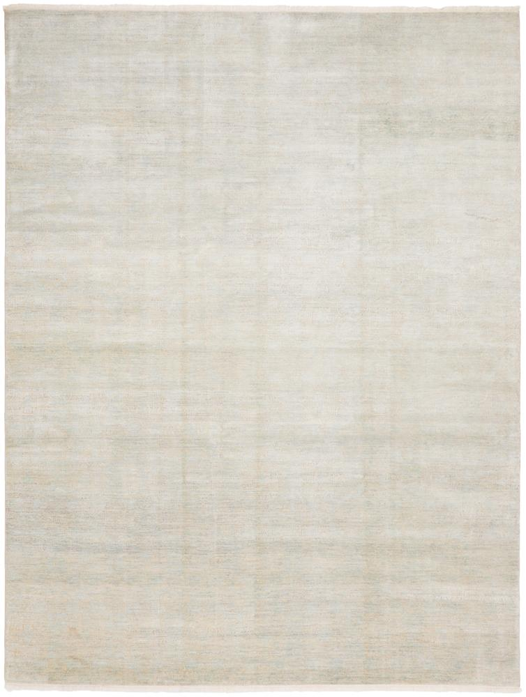 Hand Knotted Diamond Rug - Powder Blue