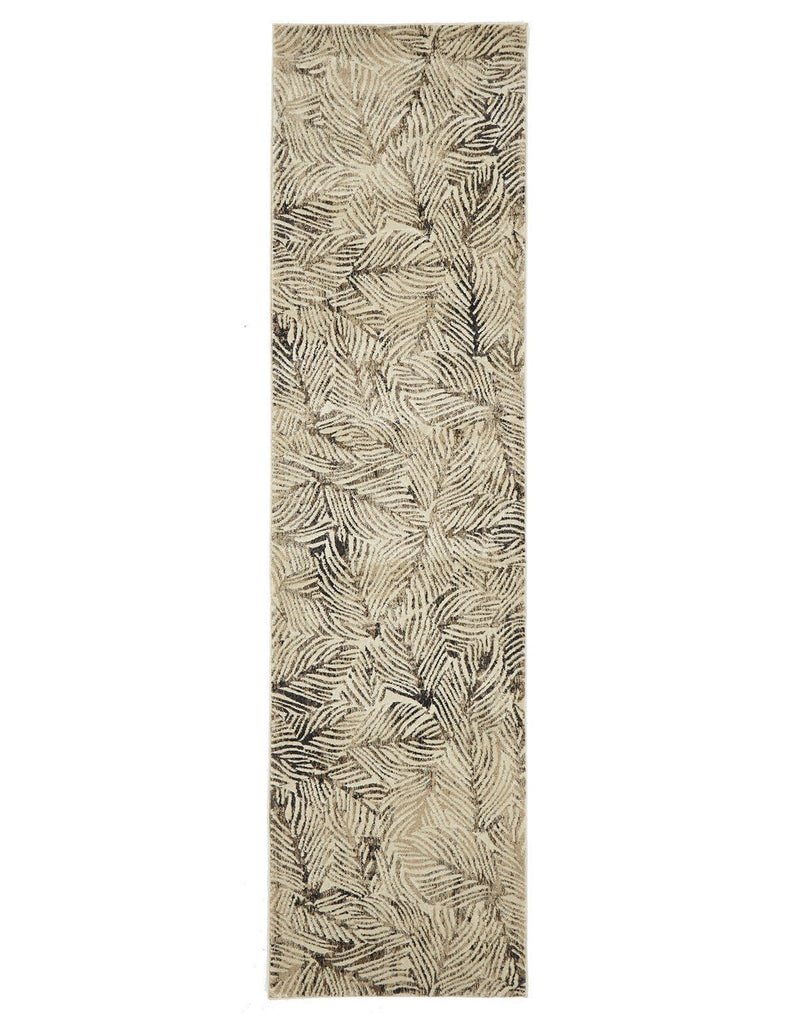 Dreamscape Artistic Nature Modern Charcoal Rug