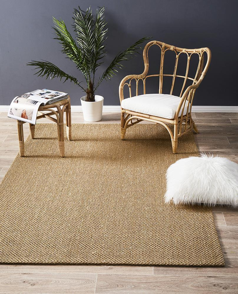 Eco Sisal Tiger Eye Sand Rug