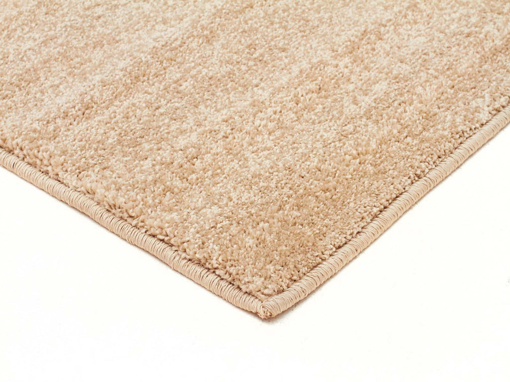 Element Collection Dense Plain Bone Coloured Rug