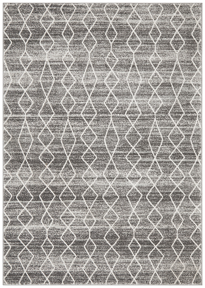 Evoke Remy Silver Transitional Rug