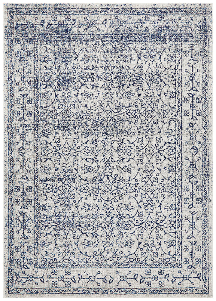 Evoke Whisper White Transitional Rug