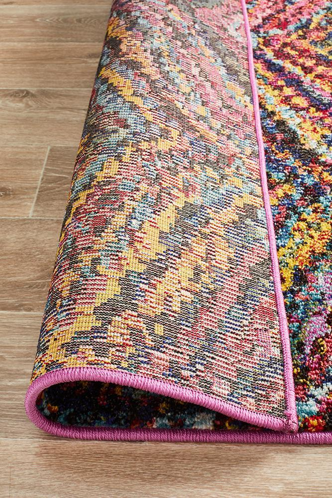 Gemini Modern 510 Multi Coloured Rug