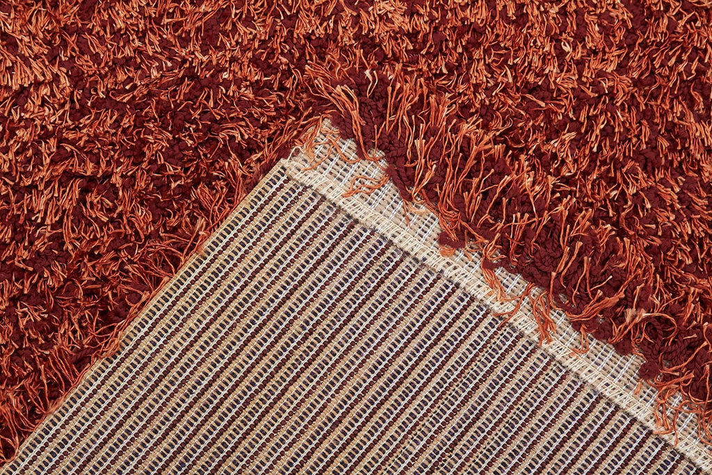 Gravity collection Rust Rug