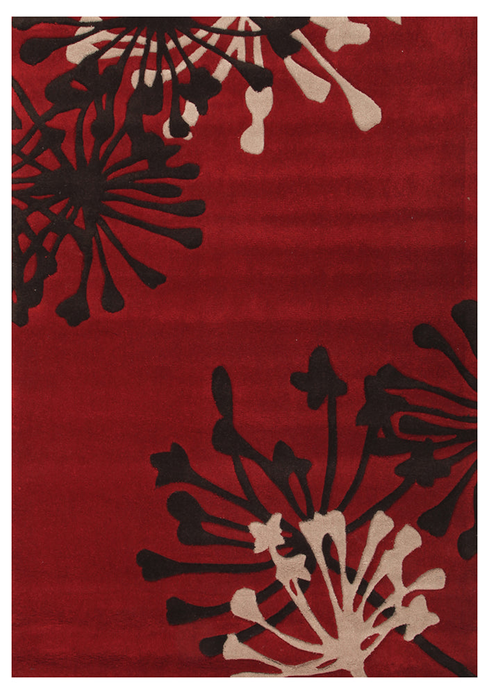 Gold Collection 610 Red Rug