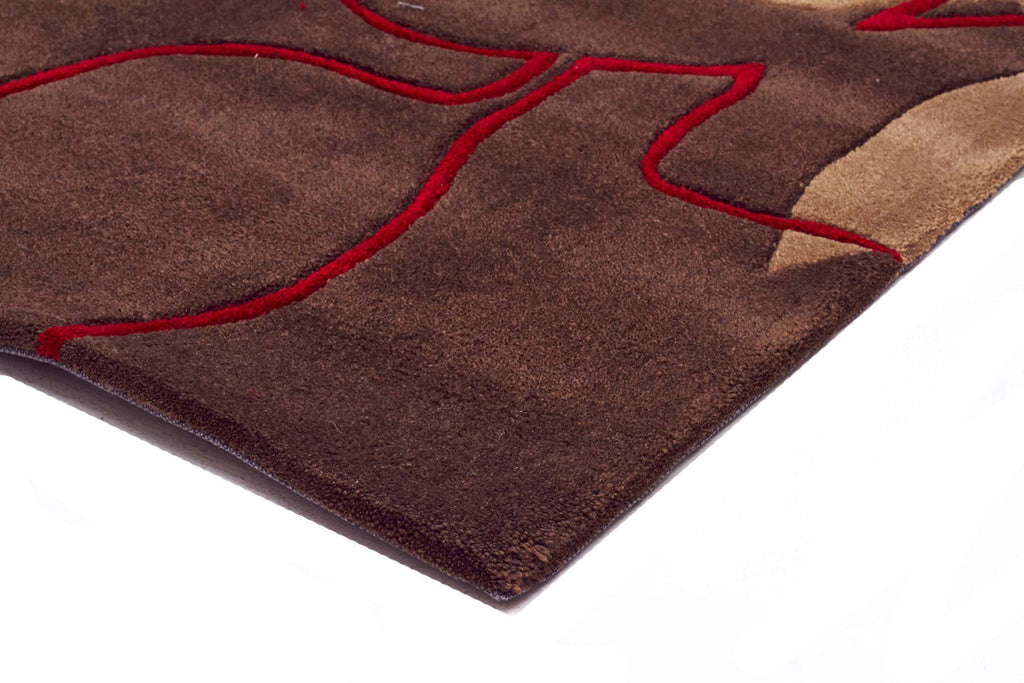Gold Collection 611 Brown Rug