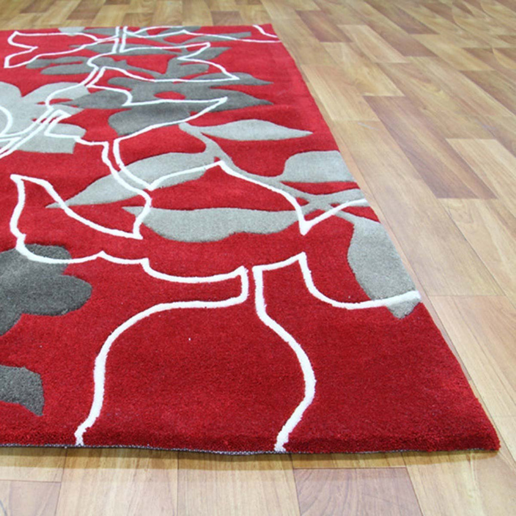 Gold Collection 611 Red Rug