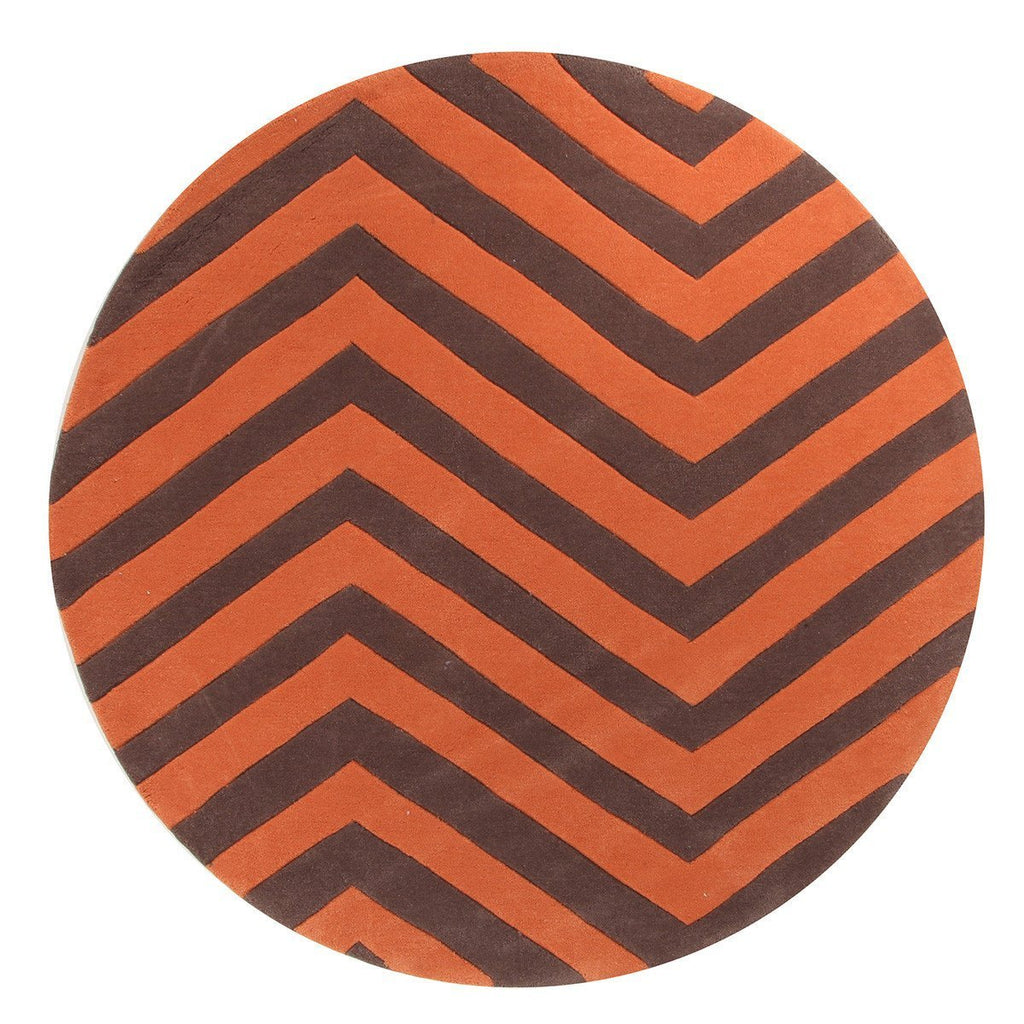 Gold Collection 622 Jaffa Round Rug