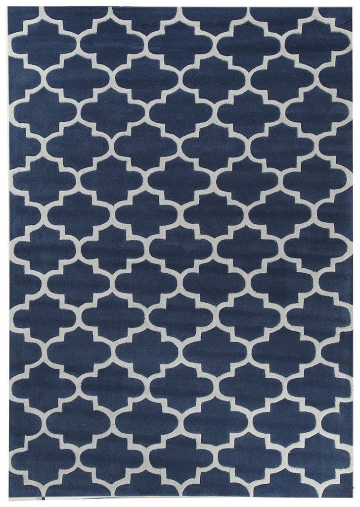 Gold Collection 625 Navy Rug