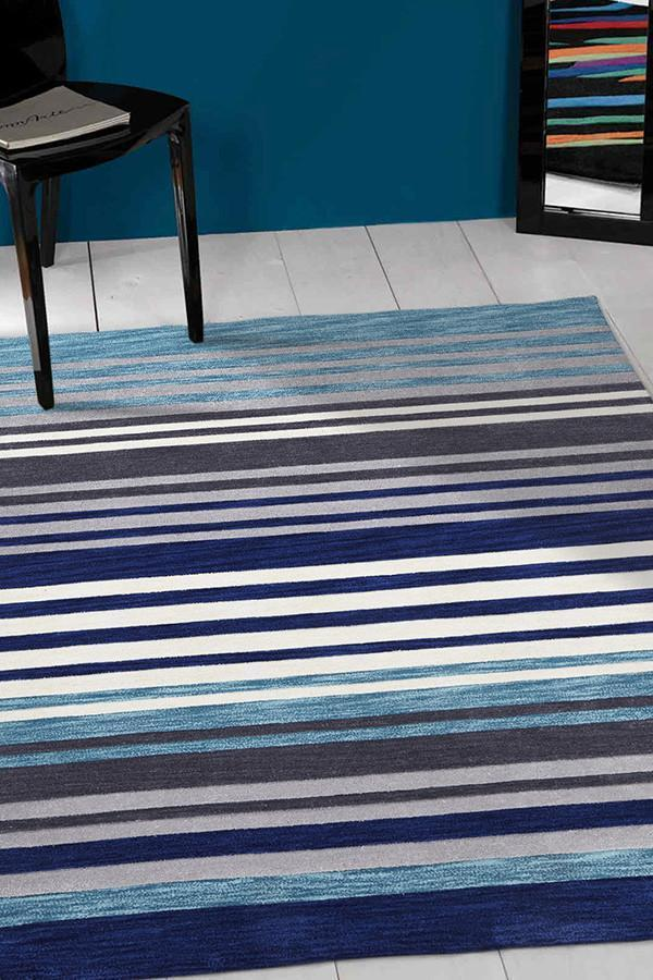 Gold Collection 650 Blue Rug