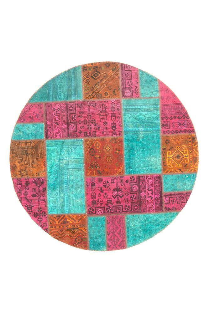 Persian Hand Knotted Patchwork - IR1372