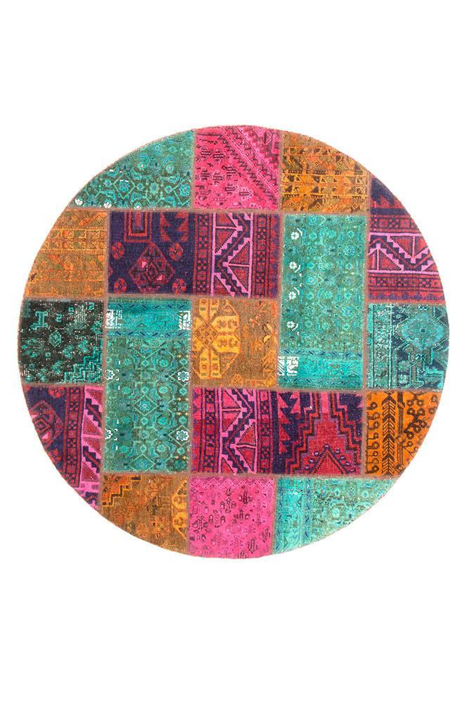 Persian Hand Knotted Patchwork - IR1373