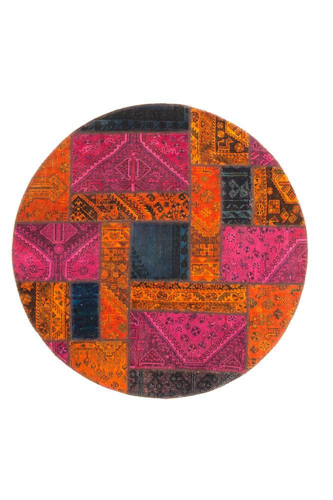 Persian Hand Knotted Patchwork - IR1374