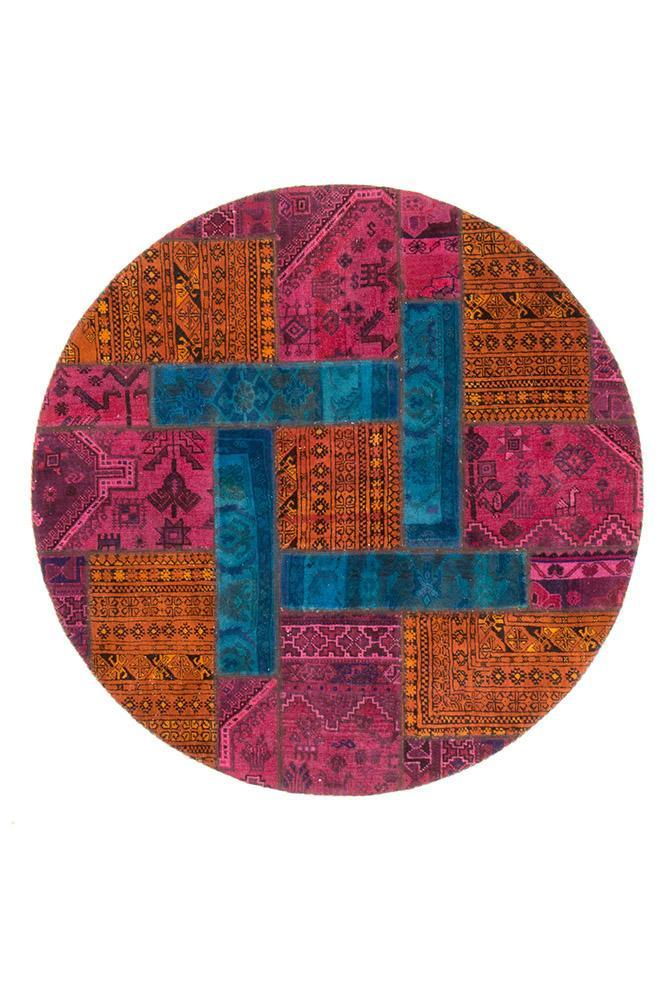 Persian Hand Knotted Patchwork - IR1375