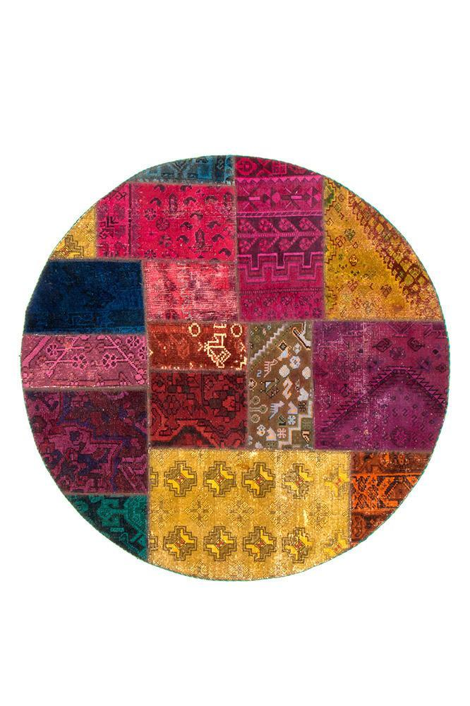 Persian Hand Knotted Patchwork - IR1376