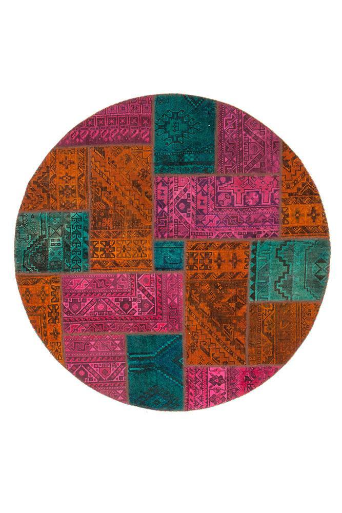 Persian Hand Knotted Patchwork - IR1377