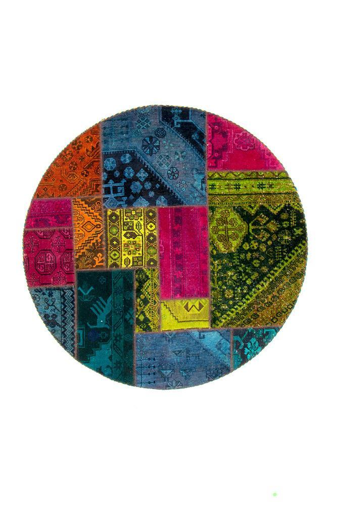 Persian Hand Knotted Patchwork - IR1378