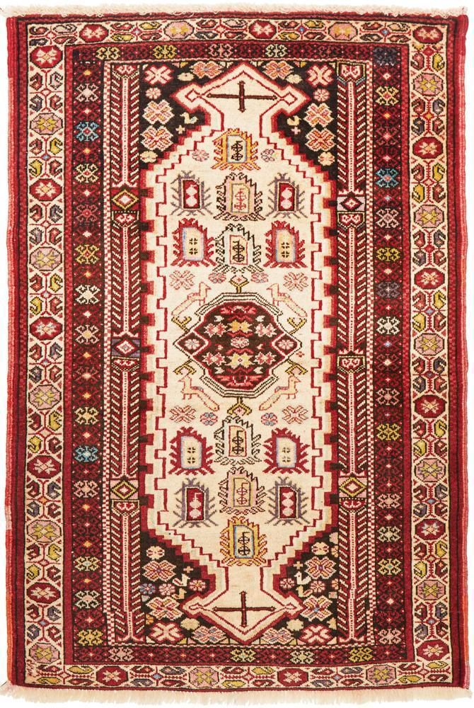 Hand Knotted Fine Quality Balouchi 147X95cm Rug