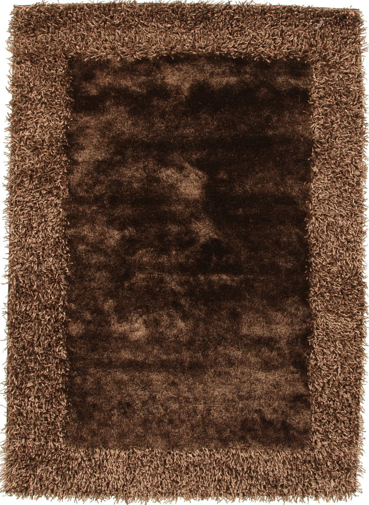 Madison Collection Brown Rug