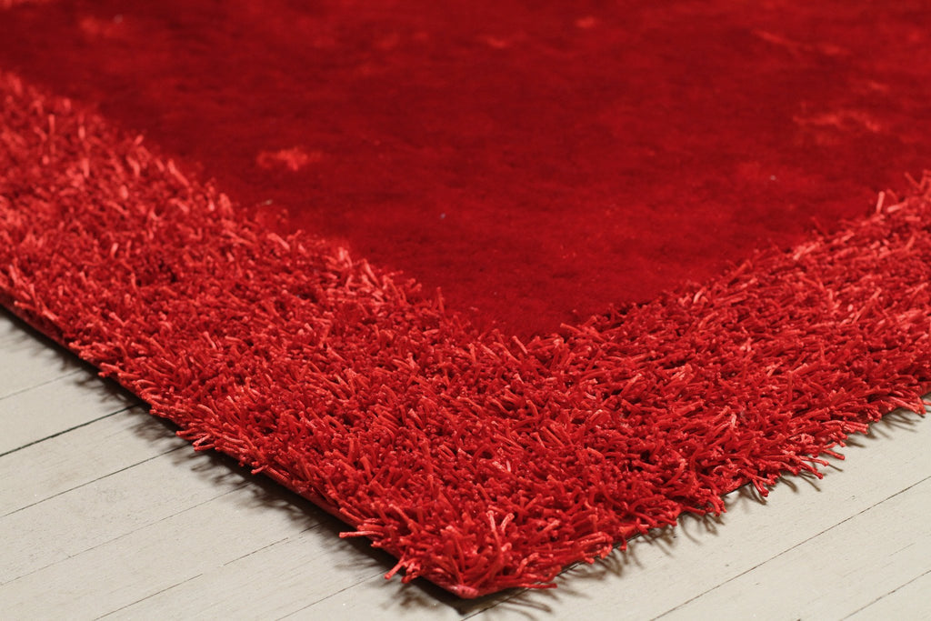 Madison Collection Red Rug