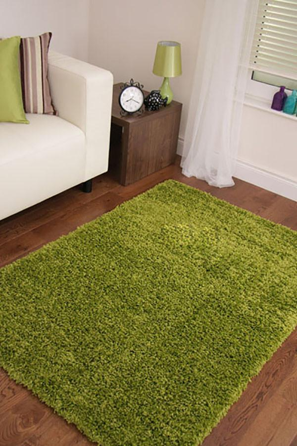 Notes Collection Green Rug