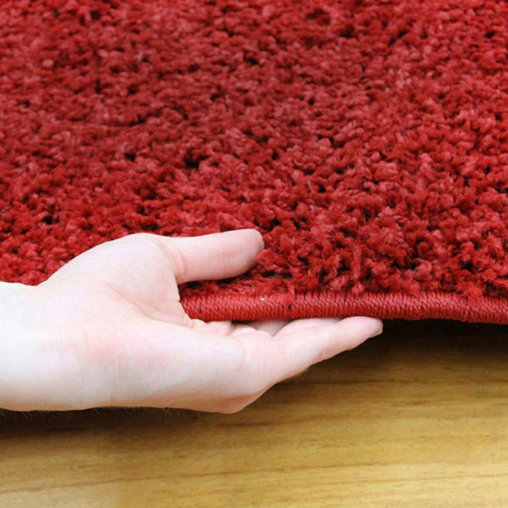 Notes Collection Red Rug