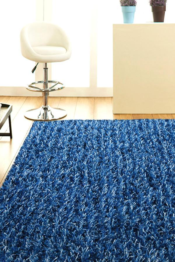 Orlando Collection Blue Rug