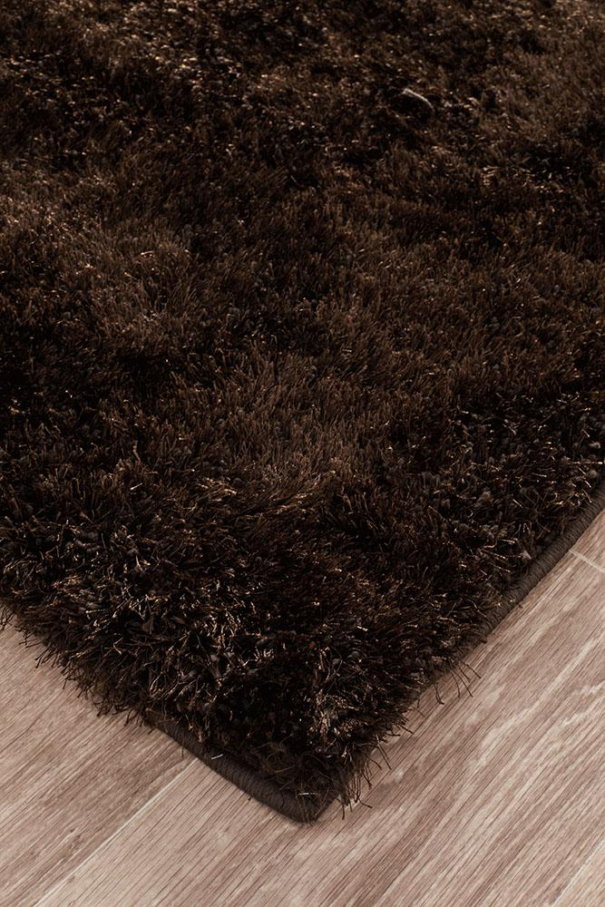 Oslo Shag Chocolate Rug