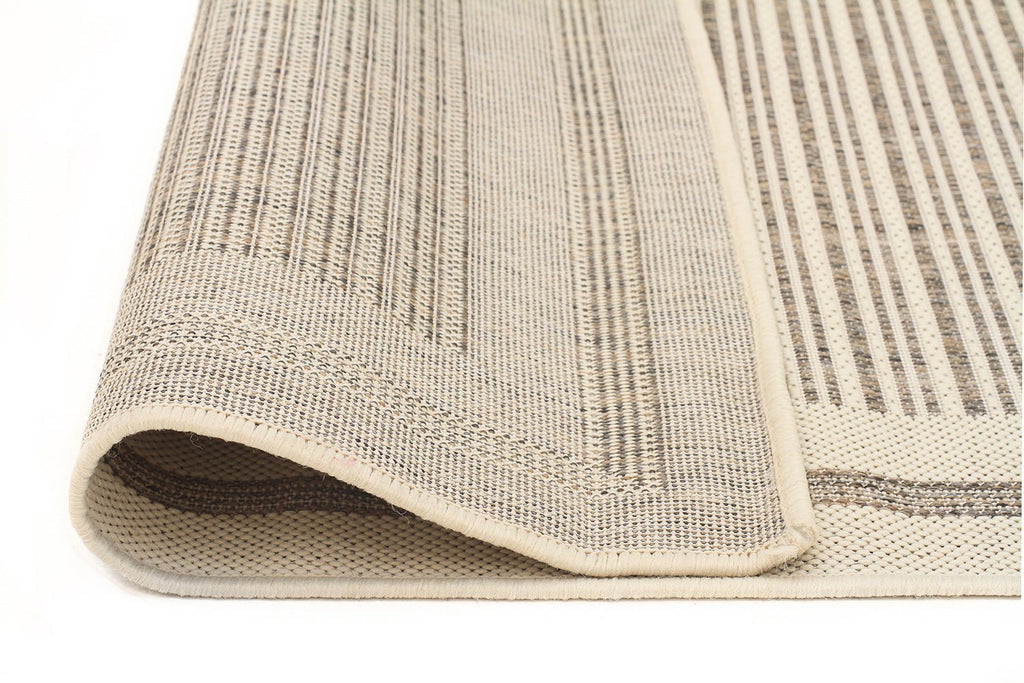 Sunset Horizon Indoor Outdoor Modern Beige Rug