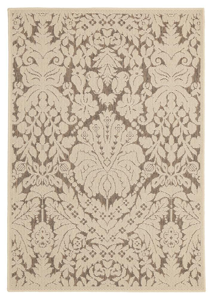 Evolution Indoor Outdoor Modern Beige Rug