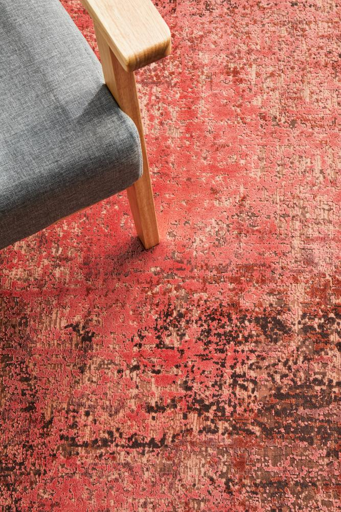 Reflections 101 Coral Rug