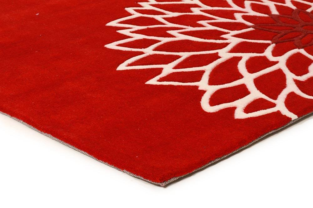 Gold Collection 111 Red Rug