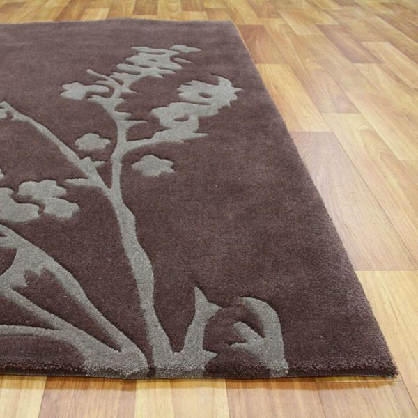 Gold Collection 118 Brown Rug